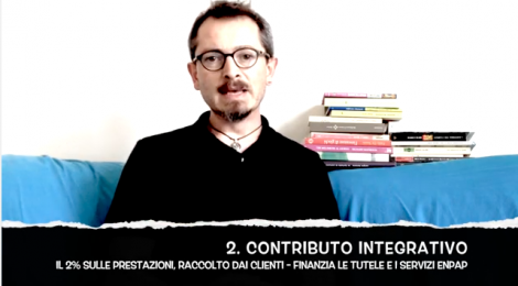 [VIDEO] Tre tipi di contributi ENPAP: perché?